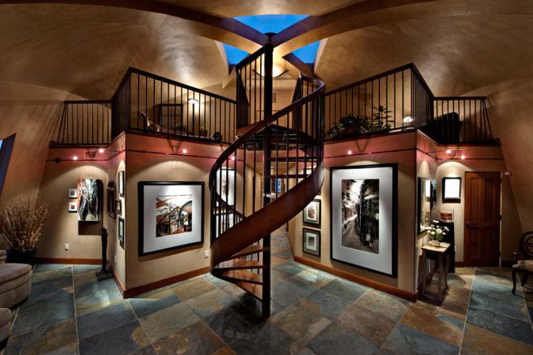 Dome Home Remodel Interior