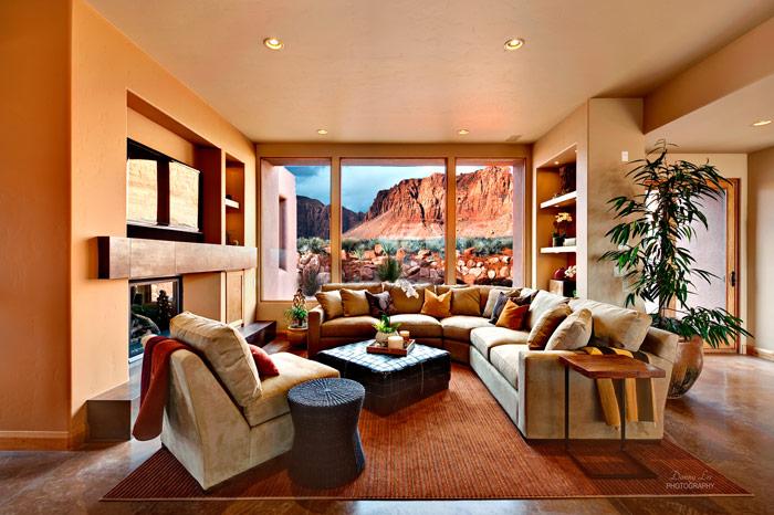 Terra Numa Parade Home Living Area